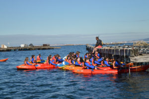 Kayak Escolares en la Batea