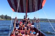 Drakar Vikingo Navegando