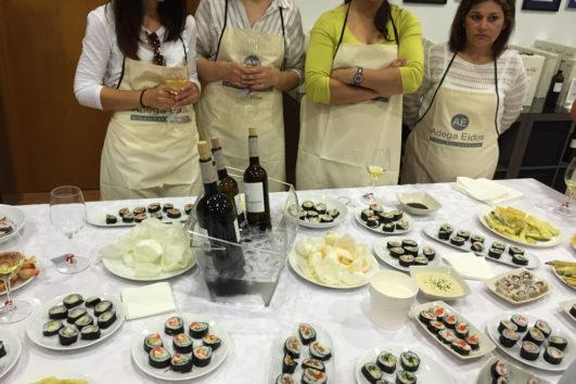 Taller de Cocina con Sushi