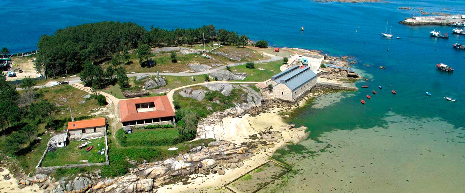 Catamarán y Museo Salazón O grove