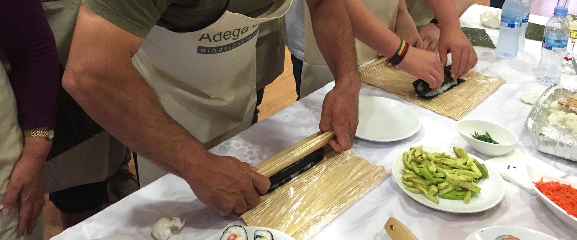 Taller de Cocina Sushi