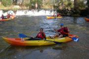 Descenso Río Umia después del salto