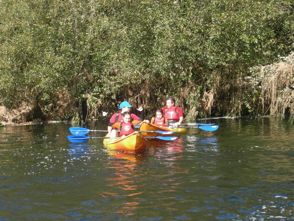 Descenso Río Umia Navegando