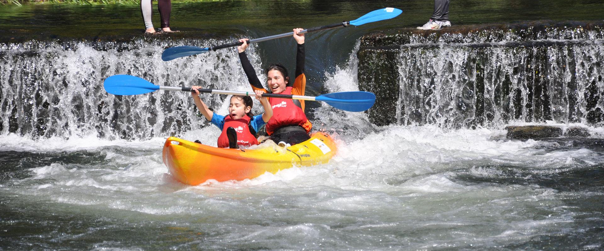 Descenso Río Umia en Kayak