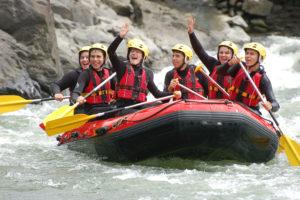 Rafting Miño