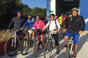 Yincana en bicicleta salida