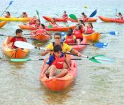 Galería: Bautismo en Kayak con interpretación de Conchas Marinas